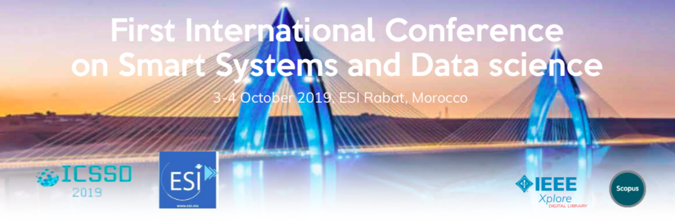 INTERNATIONAL CONFERENCE ON SMART SYSTEMS AND DATA SCIENCE 2019